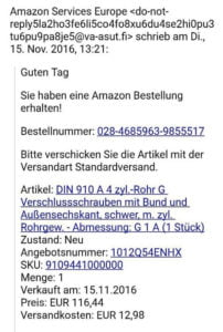 They are not legit! Warning for sellers in Germany