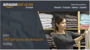 Amazon now offers VAT services!