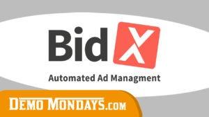 Demo Mondays #27 - BidX - Automated Ad Management