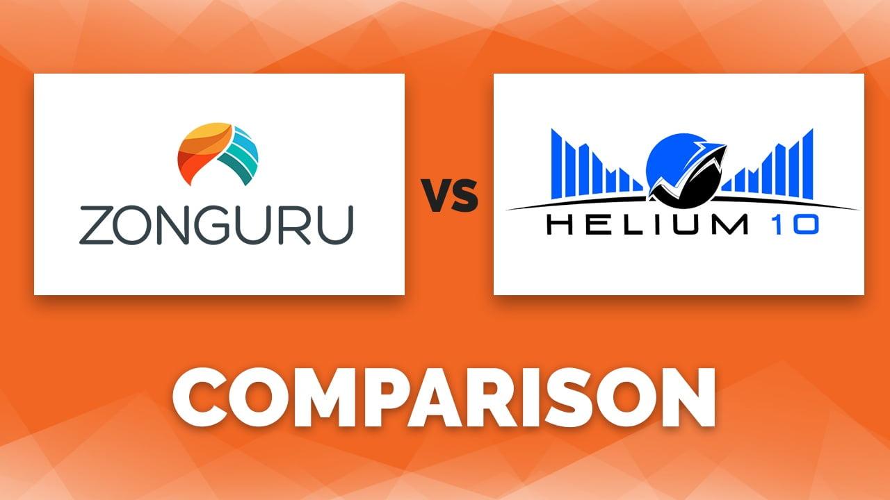 Helium 10 vs ZonGuru Review