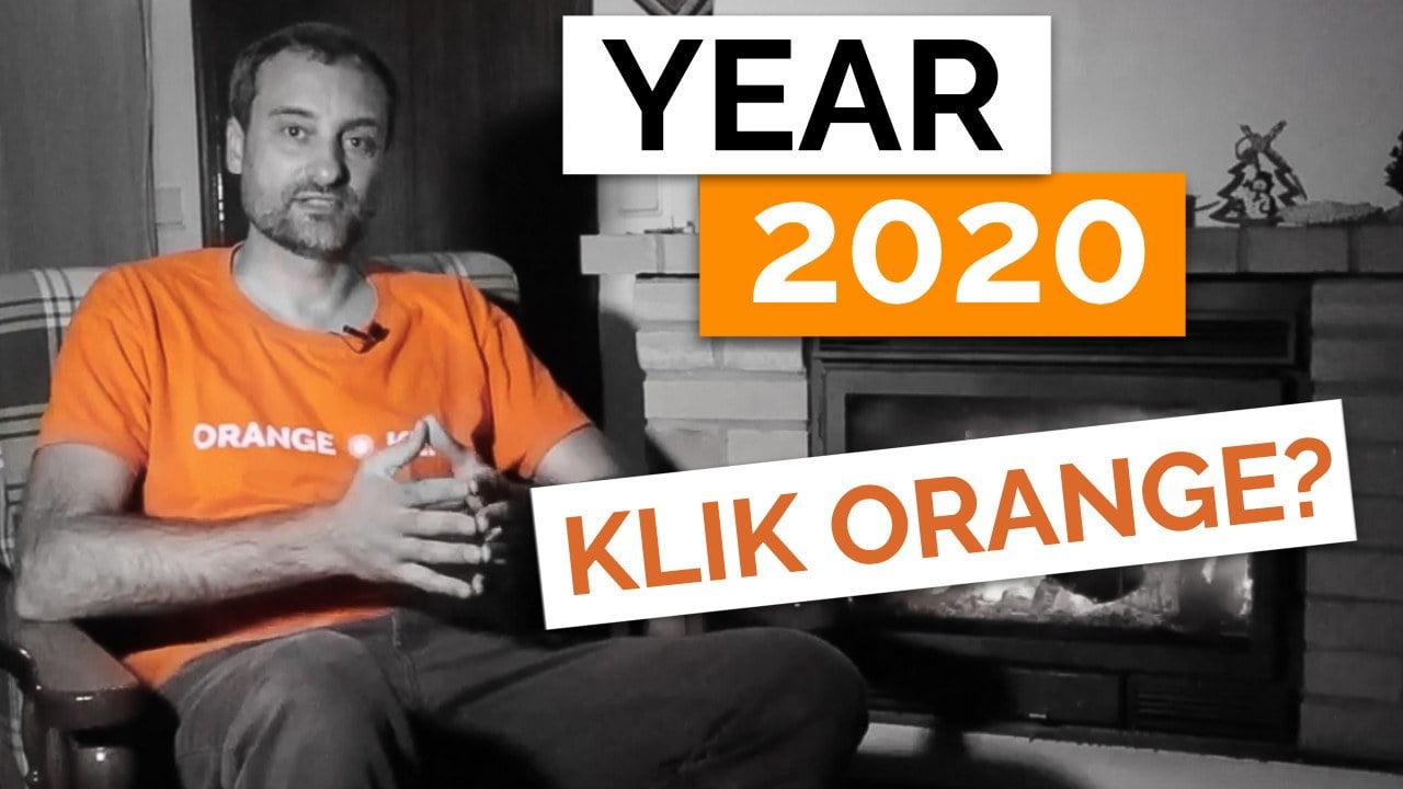 Year 2020 at Orange Klik: Change of Plans and New Team