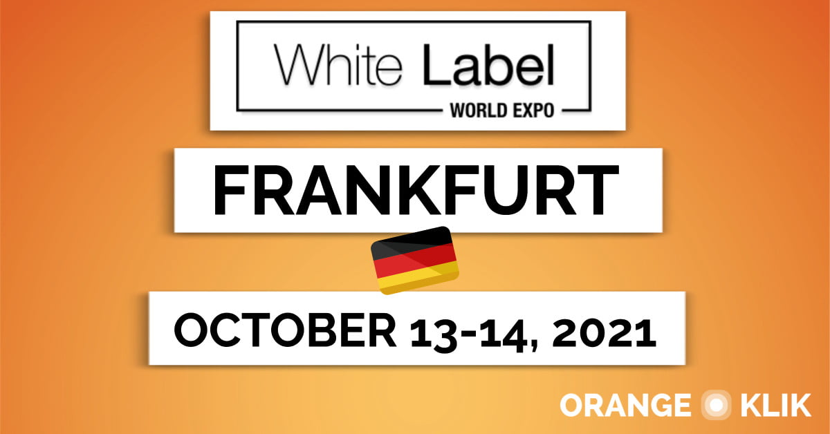 White Label World Expo Will Take Place in Frankfurt in October 2021